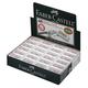 Резинка стирательная FABER-CASTELL (Германия) «7086», для чернографитных и цветных карандашей
