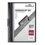 Папка с клипом DURABLE (Германия), до 60 листов, «Duraclip Original», черная