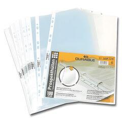 Папки-файлы перфорированные пластиковые