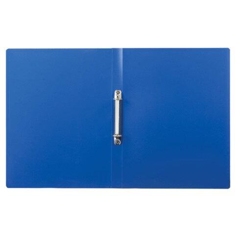Папка на 2 кольцах ERICH KRAUSE «Standard», 24 мм, синяя, 0,5 мм