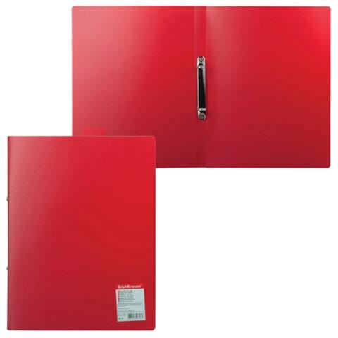 """Папка на 2 кольцах ERICH KRAUSE """"Standard"""", 24 мм, красная, 0,5 мм"""