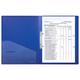 Папка на 2 кольцах ERICH KRAUSE «Megapolis», 24 мм, синяя, 0,8 мм