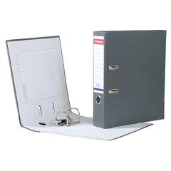 Папка-регистратор ERICH KRAUSE «Стандарт», с покрытием из ПВХ, 70 мм, серая