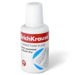 Корректирующая жидкость ERICH KRAUSE, 20 мл, флакон с губкой