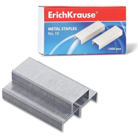Скобы для степлера ERICH KRAUSE, №10, 1000 штук