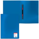Папка с металлическим скоросшивателем ERICH KRAUSE «Standard», синяя, до 100 листов, 0,45 мм