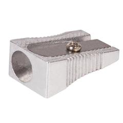 Точилка BRAUBERG «Style», металлическая клиновидная, в картонной коробке