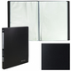 Папка 60 вкладышей BRAUBERG «Office», черная, 0,6 мм