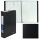 Папка 100 вкладышей BRAUBERG «Office», черная, 0,8 мм