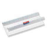 Пленка самоклеящаяся для учебников HERLITZ прозрачная, с липким слоем, 40×100 см