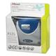 Дырокол REXEL (США) P225 «Premium» средний на 25 листов, серебристо-синий