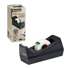 Диспенсер для клейкой ленты SCOTCH настольный, без ленты, для лент шириной до 19 мм, (3М, США)