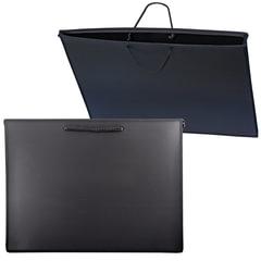 Папка для рисунков и чертежей, А3, 460×343 мм, с ручками, пластиковая, черная