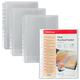 Папки-файлы перфорированные, A4, ERICH KRAUSE, комплект 10 шт., вместимость до 200 листов, 0,12 мм
