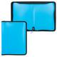 Папка на молнии пластиковая ERICH KRAUSE «NEON» («Неон»), А4, 300×215 мм, 6 цветов ассорти, 0,5 мм