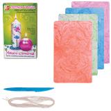 Набор для творчества ЛУЧ «Лепим свечи»: восковые пластины перламутр. 5 цв., фитиль, стек, инструкция