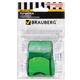 Точилка BRAUBERG «Referee» (БРАУБЕРГ «Рефери»), с контейнером и стирательной резинкой, ассорти, форма свистка, упаковка с подвесом