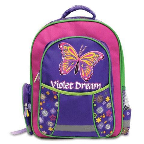 Рюкзак ПИФАГОР для учениц начальной школы, «Радужные мечты», 15 литров, 38×28×14 см