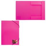 Папка-короб на резинках BRAUBERG «Energy» (БРАУБЕРГ «Энерджи»), 20 мм, неоновая, ассорти, 0,5 мм