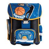 Ранец жесткокаркасный BRAUBERG (БРАУБЕРГ) для учеников начальной школы, «Баскетбол», 20 литров, 37×30×16 см
