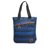 Сумка на ремне BRAUBERG (БРАУБЕРГ) W-149, для старшеклассниц/<wbr/>студенток, синяя/<wbr/>черная, «Нордик», 42×31×13 см