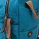 Сумка на ремне BRAUBERG (БРАУБЕРГ) W-145, для старшеклассниц/<wbr/>студенток, холщовая, искусственная кожа, «Капля», 35×27×12 см