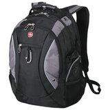 Рюкзак WENGER (Швейцария), универсальный, 39 л, черно-серый, 36×23×47 см