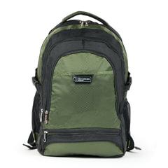 Рюкзак для школы и офиса BRAUBERG «StreetRacer 1», 30 л, размер 48×34×18 см, ткань, черно-зеленый
