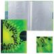 Папка 40 вкладышей HATBER HD, «iFRESH-киви», 0,9 мм