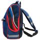 Ранец жесткокаркасный BRAUBERG (БРАУБЕРГ) для учеников начальной школы, 17 л, синий, «Хоккей», 34×26×14 см