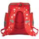 Ранец жесткокаркасный BRAUBERG (БРАУБЕРГ) для учениц начальной школы, 18 л, красный, «Одуванчик», 36×26×14 см