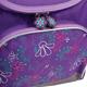 Ранец жесткокаркасный BRAUBERG (БРАУБЕРГ) для учениц начальной школы, 17 л, фиолетовый, «Мелодия», 34×26×16 см