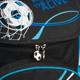 Ранец жесткокаркасный BRAUBERG (БРАУБЕРГ) для учеников начальной школы, 20 л, сине-черный, «Футбол», 38×29×16 см