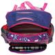 Рюкзак ПИФАГОР для учениц начальной школы, 19 л, фиолетовый/<wbr/>розовый, «Прекрасное сердце», 38×30×14 см