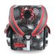 Ранец жесткокаркасный BRAUBERG (БРАУБЕРГ) для учеников начальной школы, 17 л, черный/<wbr/>красный, «Тарантул», 36×26×17 см