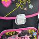 Ранец жесткокаркасный BRAUBERG (БРАУБЕРГ) для учениц начальной школы, 20 л, черный/<wbr/>розовый, ягодки, 37×30×16 см