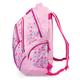 Рюкзак BRAUBERG (БРАУБЕРГ) для учениц средней школы, 30 л, розовый, «Бабочка», вышивка, 45×34×15 см