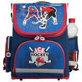 Ранец жесткокаркасный раскладной BRAUBERG (БРАУБЕРГ) для учеников начальной школы, «Хоккей», 20 литров, 37×29×17 см