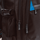 Рюкзак BRAUBERG (БРАУБЕРГ) B-TR1501 для учеников старших классов и студентов, 35 л, черный с синими уголками, «Вихрь», 44×28×17 см