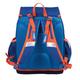 Рюкзак с эргономичной спинкой ERICH KRAUSE для учеников начальной школы, 18 л, синий/<wbr/>оранжевый, «Мотоцикл», 36×31×20 см