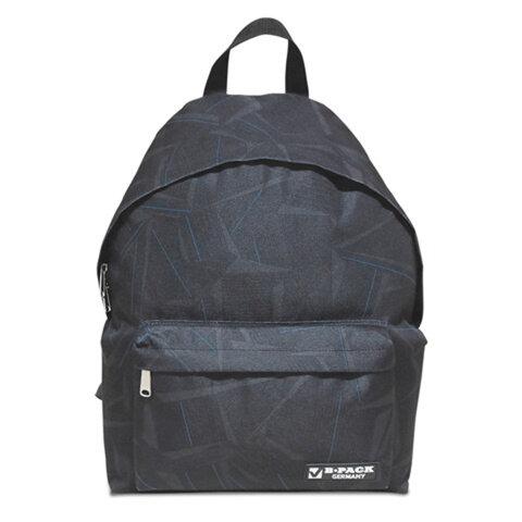 Рюкзак BRAUBERG (БРАУБЕРГ) универсальный, сити-формат, темно-серый, «Графика», 20 литров, 41×32×14 см