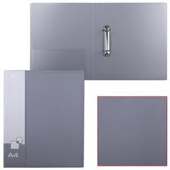 Папка на 2 кольцах БЮРОКРАТ, 40 мм, ассорти, внутренний карман, до 250 листов, 0,8 мм