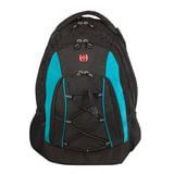Рюкзак WENGER (Швейцария), универсальный, 28 л, черно-синий, 33×19×45 см