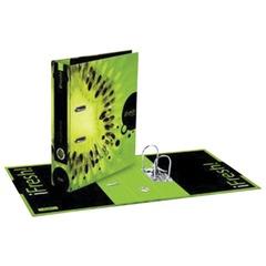 Папка-регистратор HATBER HD, 2-х стороняя запечатка, 70 мм, «IFRESH-киви», ПР4 10623