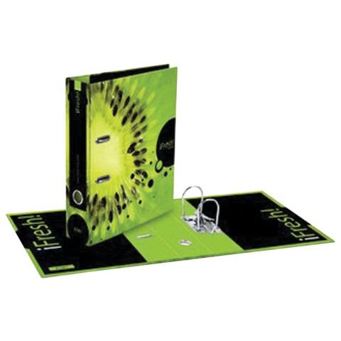 Папка-регистратор HATBER HD, 2-х стороняя запечатка, 70 мм, «IFRESH-киви»
