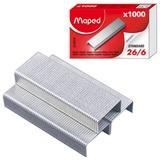 Скобы для степлера MAPED (Франция), №26/<wbr/>6, 1000 шт.