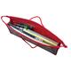 Папка-сумка на молнии с веревочными ручками, А4, пластик, универсальная, далматинцы