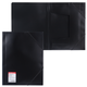 Папка на резинках ERICH KRAUSE «Standard», А4, черная, до 300 листов, 0,6 мм