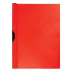 Папка c клипом ERICH KRAUSE «Clipfile», до 30 листов, красная