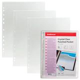 Папки-файлы перфорированные, A4, ERICH KRAUSE, комплект 10 шт., гладкие, боковая загрузка, 0,03 мм